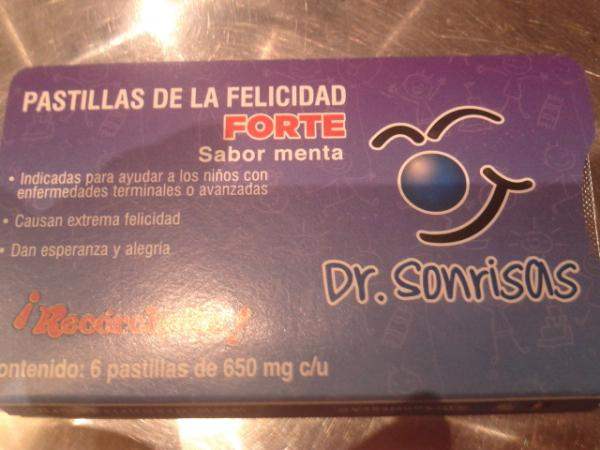 pastillas para la felicidad dr sonrisas