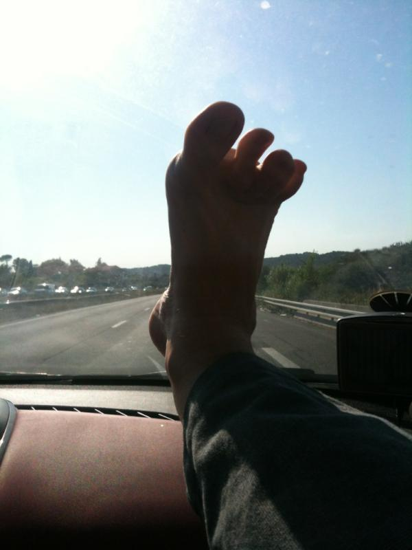 lever le pied