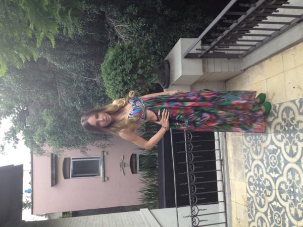 Que hermosa se ve @belindapop en la terraza de la suite Orrin, gracias por venir! http://t.co/HDTzDhND
