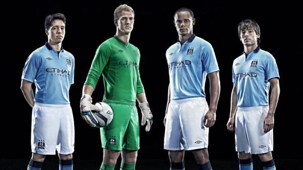 el nuevo uniforme del manchester city