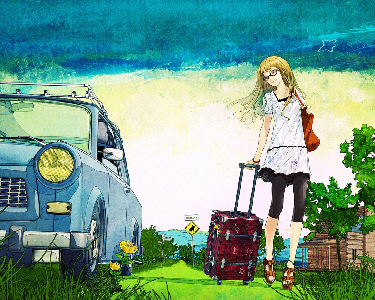Прикольные картинки про поездку в деревню, открытки днем