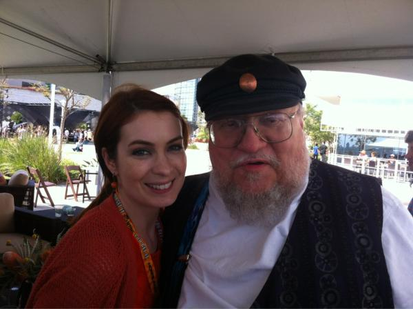 "#tbt 2012: ""Um so I met George RR Martin and he said he watched and loved @theguild "" http://t.co/AZJicHyB1t"