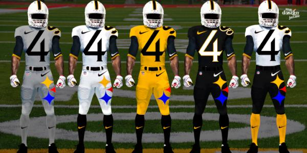 check out f0be5 76327 pittsburgh steelers new uniforms