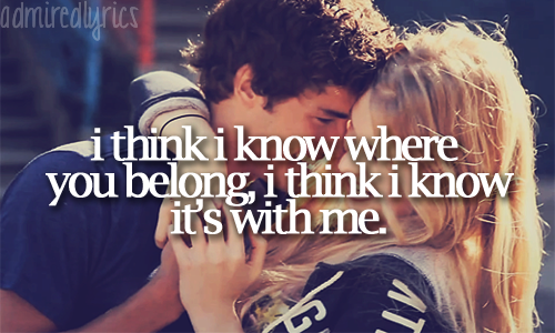 Picture Lyrics On Twitter You Belong With Me Taylor Swift Http T Co Gacinbie