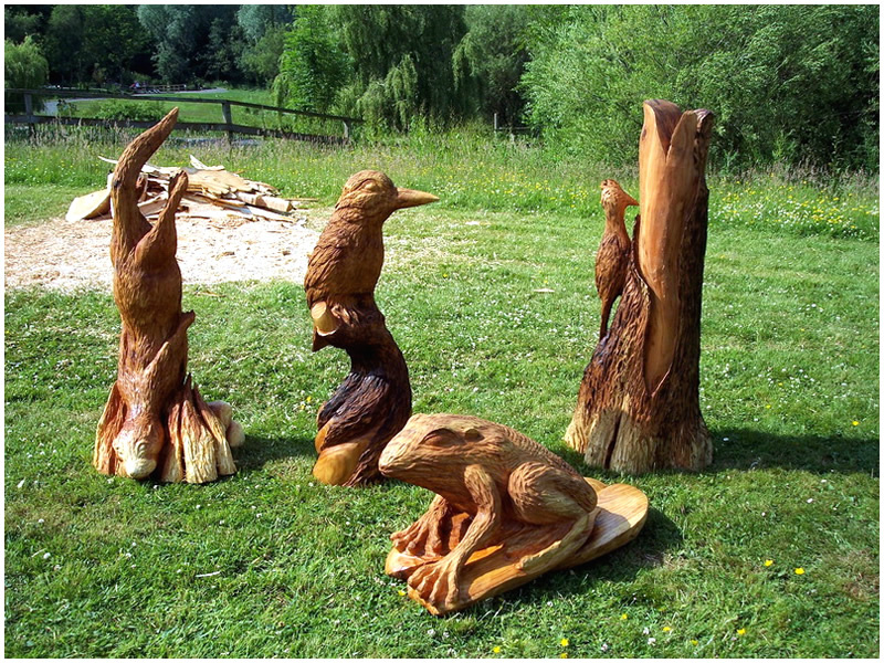 Tommy craggs on twitter quot unique chainsaw carved wooden