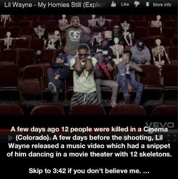 Colorado Shooting Lil Wayne Video