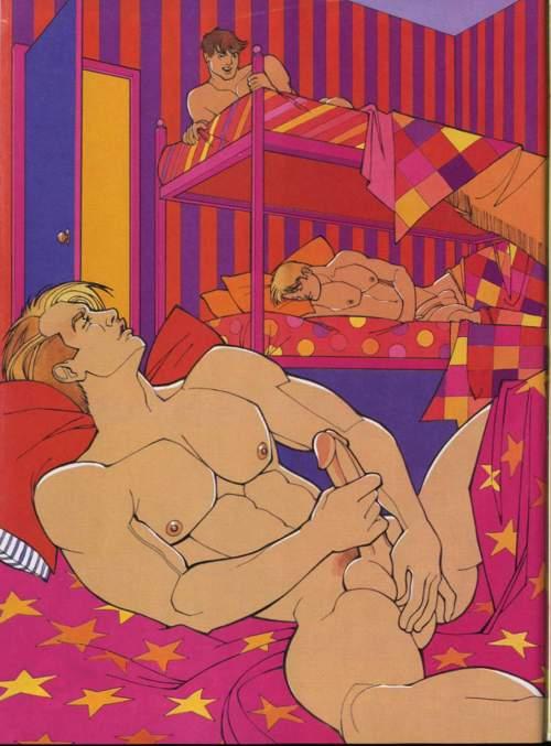 Gay porn in cartoon-7320