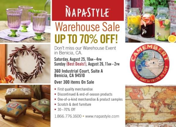 Napa Style On Twitter Napastyle Warehouse Sale Is Happening