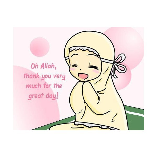 Irma Ismail On Twitter Gambar Kartun Comel Berunsur Islam From