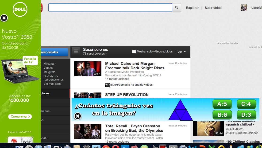 '@Juanpis: A ustedes no les da RABIA este tipo de 'Publicidad' en #Youtube? http://t.co/VAJZ15dO'// Bastante, que hijos de puta