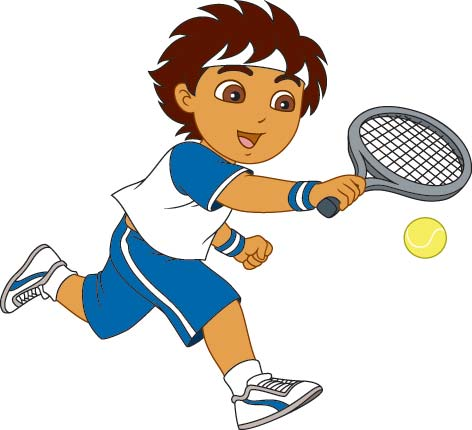 nick jr uk on twitter diego loves to keep active like playing rh twitter com Tennis Player Clip Art Playing Tennis Clip Art