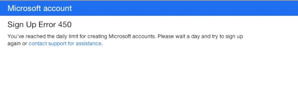 This is where these morons get it wrong, first time I try to sign up on anything to do with #microsoft & this I get. http://t.co/RuJu8l7l