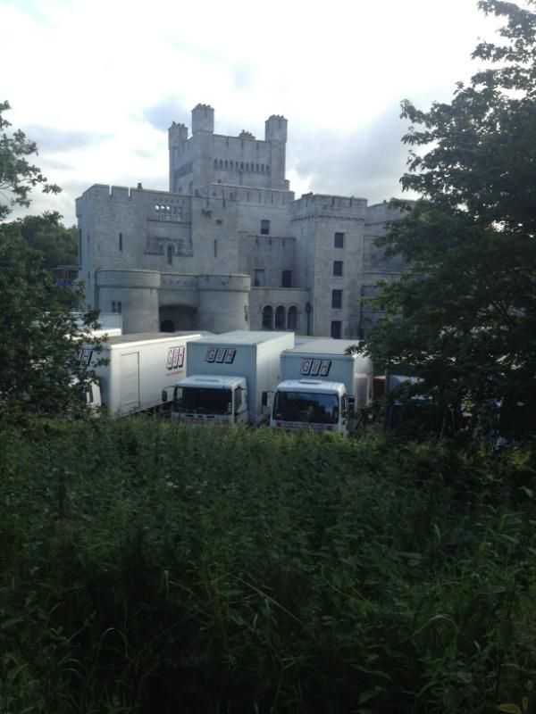 """John Hooks on Twitter: """"More shots of game of thrones filming at ..."""