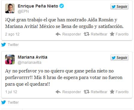 RT @EI_Meme: Lo que la medallista @MarianAvitia piensa de @EPN! ¡BRAVO! Viniendo del PRI #lavocomoVidegaray http://t.co/wYicSGn3 #20Peop ...