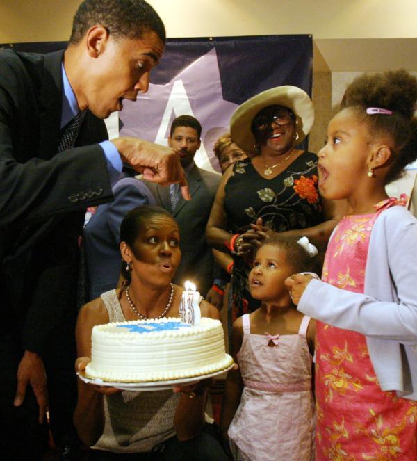 Michelle Obama On Twitter Happy Birthday Barackobama Heres An