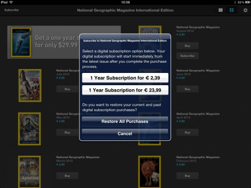 What do you prefere? Make your choice! #nationalgeographic #magazine #iPad #app<br>http://pic.twitter.com/Cw8WvukM