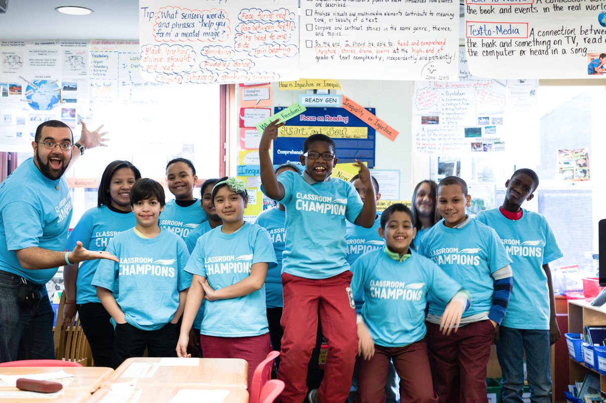 USA & CAN #Teachers - @ClassroomChamps Applications now OPEN! Transform & Inspire your class: http://t.co/oYdXYaAJlJ http://t.co/0BU41ISy7u