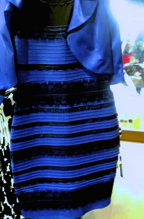 Black and blue dress actual color of dress