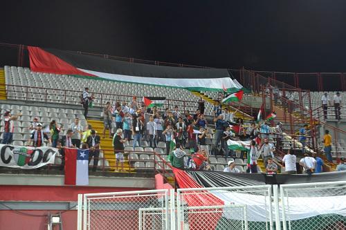 ¿La U?,¿Colo Colo? JA! Palestino lince