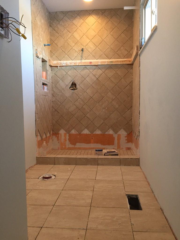 Brennan Pascoe On Twitter X Diagonal Wall Tiles X Mosaic - 2x2 mosaic tile for shower floor