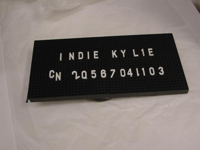 RT @PAC_ArtsCentre: Name plaque from Kylie's Did it Again music video @kylieminogue #performingartscollection @artscentremelb http://t.co/Q…