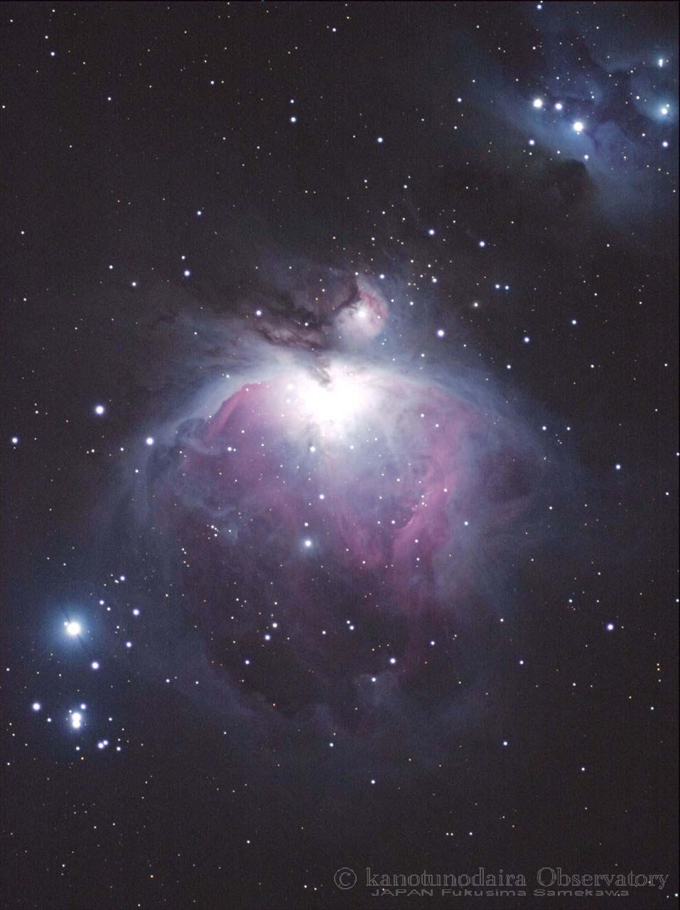 オリンパスでオリオン大星雲