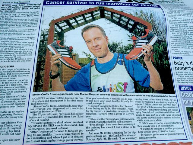 Front page article, blatant @adidasUK product placement. Worth some sponsorship pls Adidas? http://t.co/f9DtzKy0zm http://t.co/LpFWnpG51J