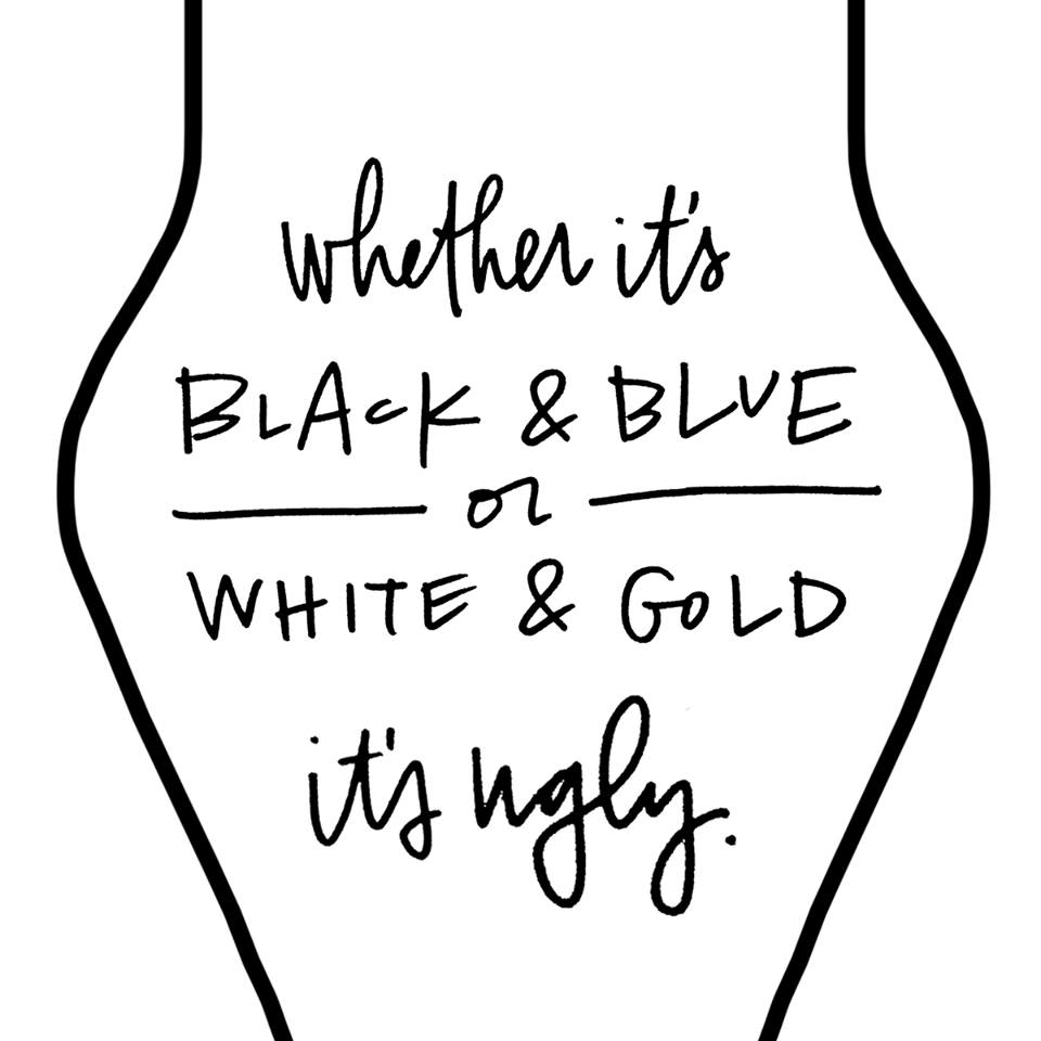 ENOUGH ALREADY!!! #whiteandgold #TheDress http://t.co/drgBok3pjX