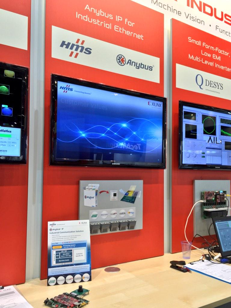 Compactcom Hashtag On Twitter Industrial Communications Arm Hms New Ethernet Platform Integrating Anybus 40 Series Xilinx Based Zynq Emb2015pic 2xuucbpoqe
