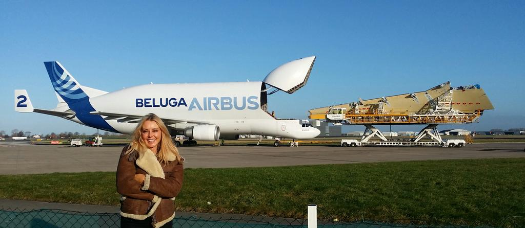 ... I'm in love with a Beautiful Beluga... Open wide x @Airbus #Broughton #blueskies http://t.co/qQVbyHRYXs