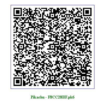 Ash S Pikachu Qr Code Digitalspace Info
