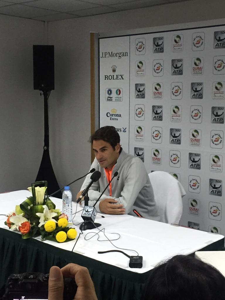 "Federer on the Coric/Djokovic comparisons. ""No don't do that to him, don't make him the next Novak"". http://t.co/zpkhcvV2M5"