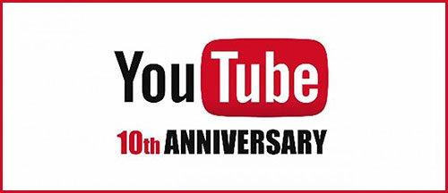 Celebrate YouTube's 10th Anniversary With This 'Best-of' Supercut http://t.co/zqyPyMHupn http://t.co/sBzbq4CEKC