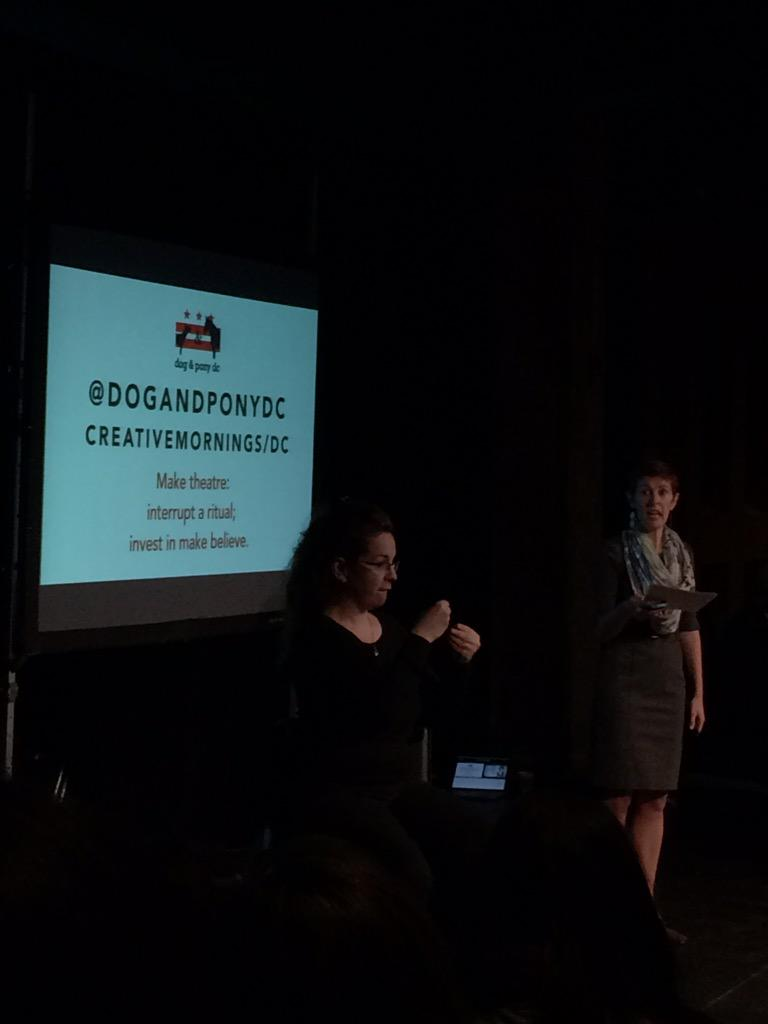 Ohh snap! @dogandponydc just gave up their Twitter handle for the day as a way to disrupt ritual and change climate. http://t.co/tqpl536Zfe
