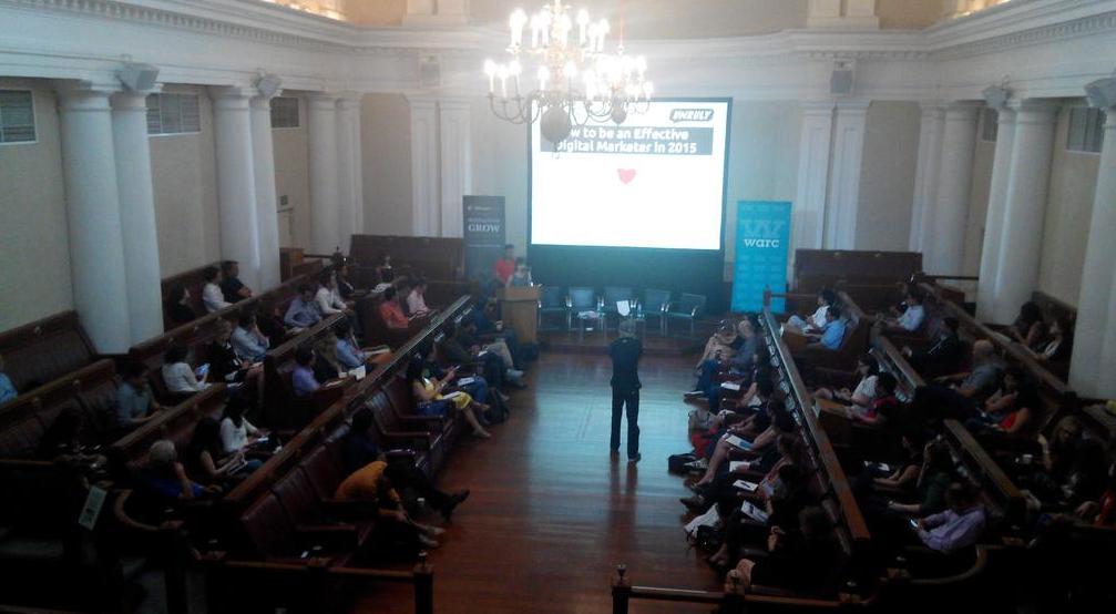 Great digital marketing event today with @WarcAsia #effectivedigital http://t.co/ZyzTAytX5o