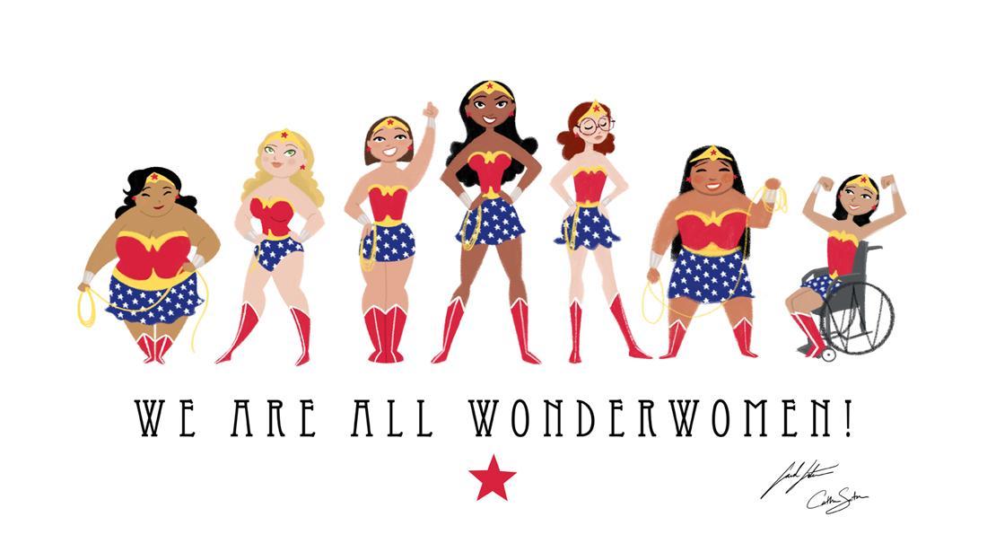 We are all Wonder Women! #wonder http://t.co/8KmoIRKPGS