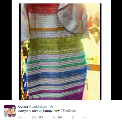 The Day of #TheDress - How a Simple Photo Went Viral by @momfluential http://t.co/kBcRPTrytQ via @hashtracking http://t.co/AZqAXb6ady