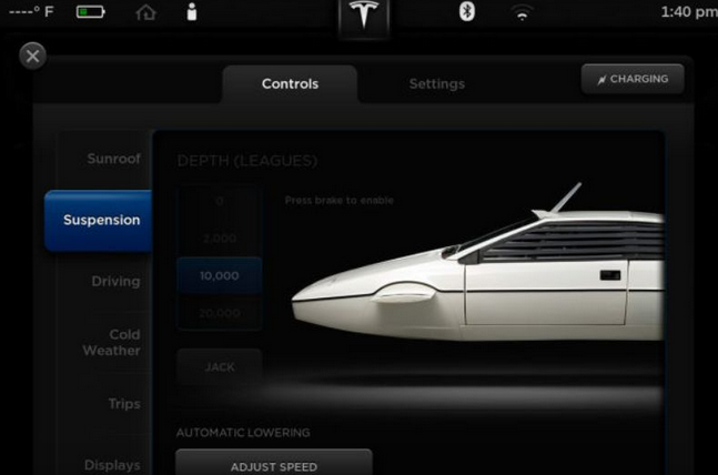 Awesome! Tesla Model S has a hidden James Bond mode http://t.co/oJKAZXn6BK http://t.co/9q6D3nPtyu