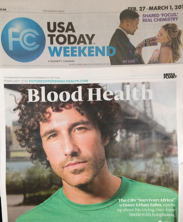 I've been in remission exactly 3 years & I'm honored to be featured in USA Today!  http://t.co/KF90HEwj6l http://t.co/vwFaoLdeWE