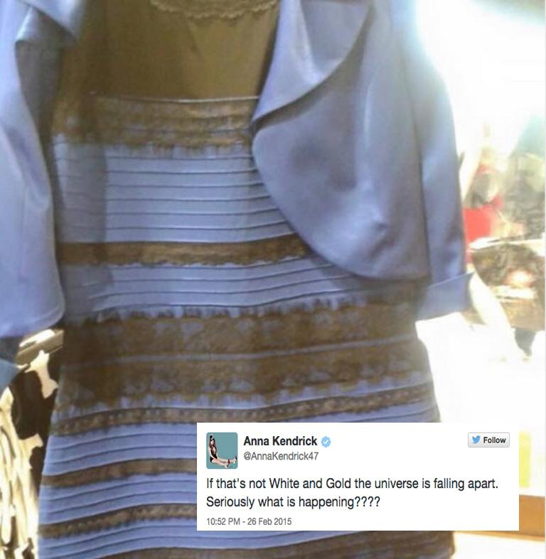 The Best Celebrity Reactions to #TheDress That Divided Everyone