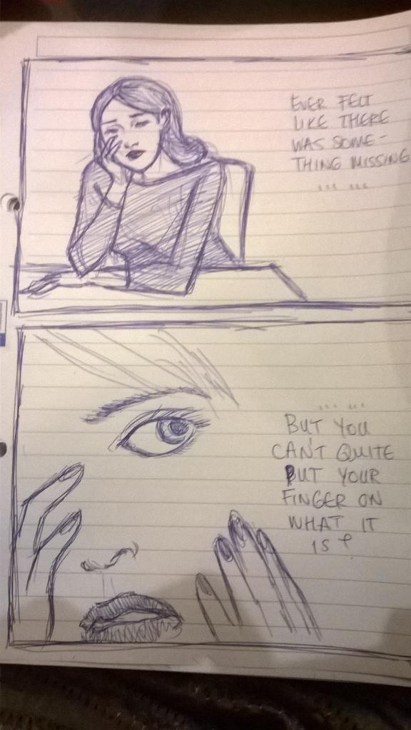 Impromptu comic sketch on the train up to Glasgow for the #comicsunconf15 http://t.co/7vJaFeuI8V