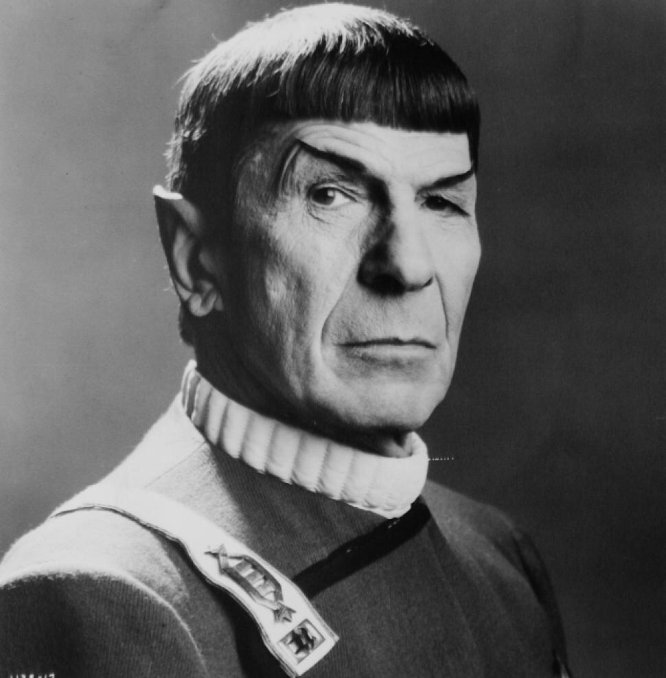 I'd trust this cat with the Falcon no questions asked, #RIP Spock! *pours some colt 45 out* #StarWars + #StarTrek http://t.co/g9phiqc28Z