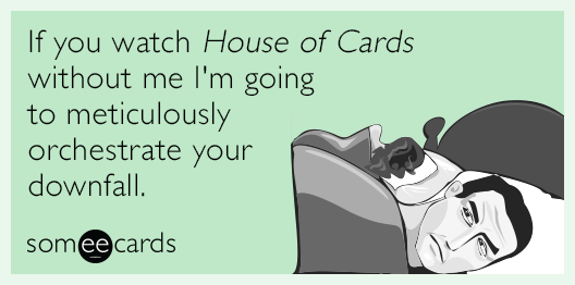 Dramatic plot: http://t.co/9J4jI8mDON (via @jakecurrie) #HouseOfCards http://t.co/iSnGmEmpXM