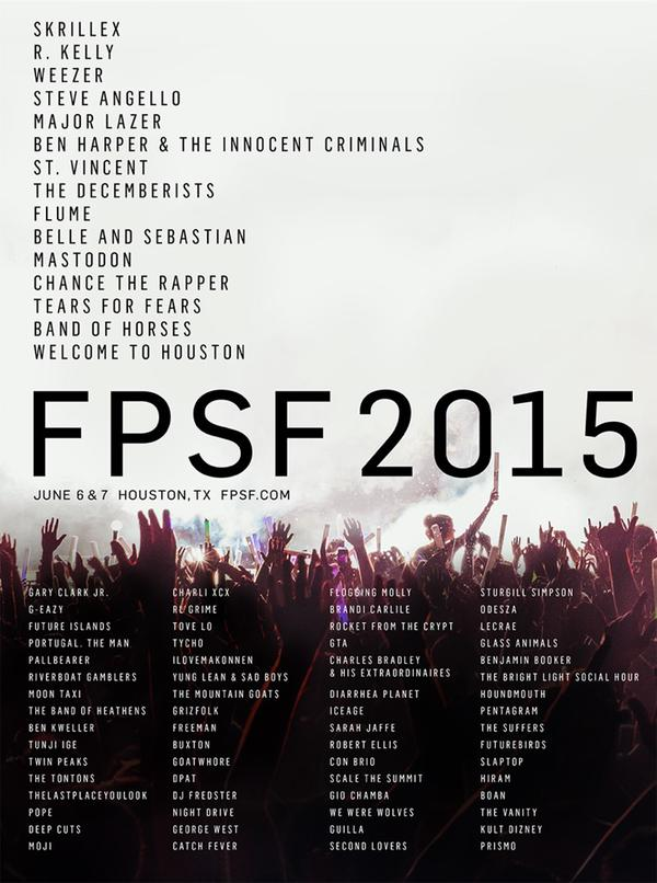 FPSF Houston Free Press Summer Festival 2015