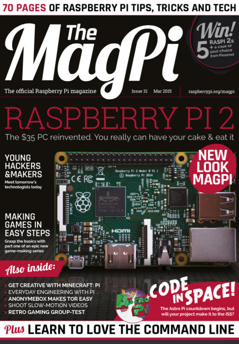 .@Raspberry_Pi now has an official publication. (& it looks great!) My column is at the end: http://t.co/6j63uTXOvI http://t.co/KQ4EVY0O8q