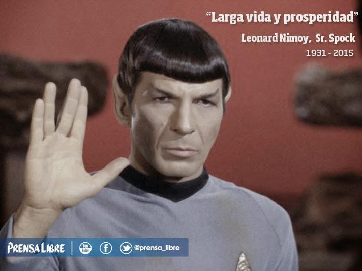 Thumbnail for Muere el señor Spock de Star Trek