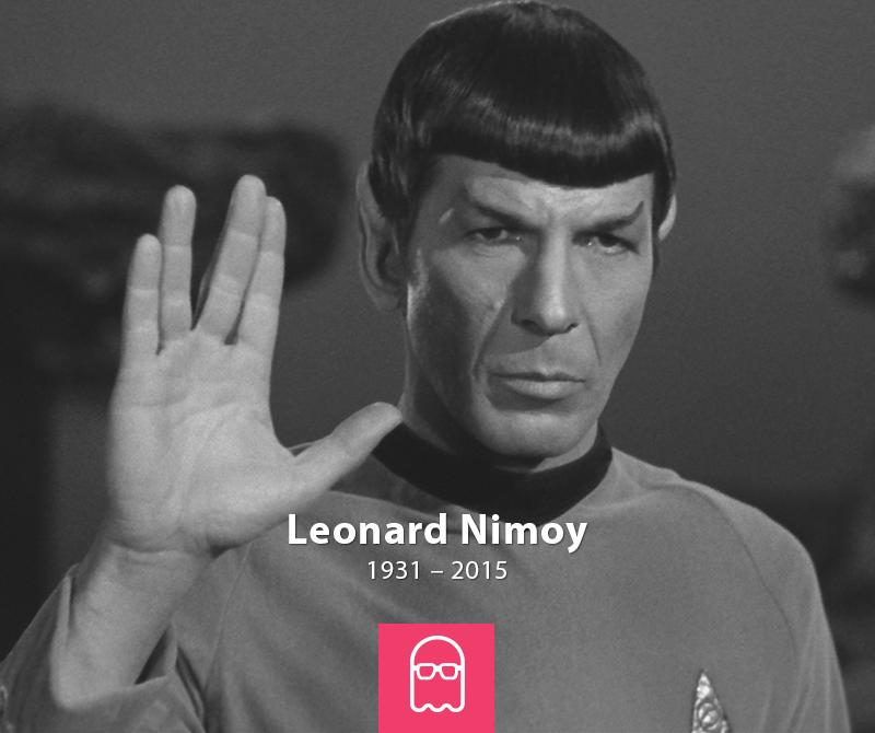 A galáxia está de luto. #LeonardNimoy #Spock http://t.co/NqgIXs9JTS