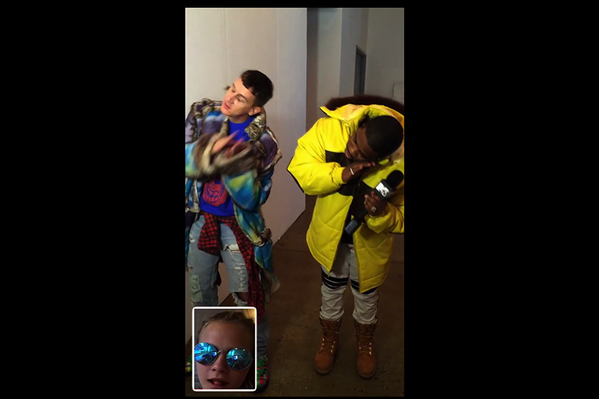 Peep clips from #NYFW plus @Caradelevingne and @ITSJEREMYSCOTT in @ASAPferg's new vid: http://t.co/8hEpiweH1H http://t.co/E61m7SSNCW