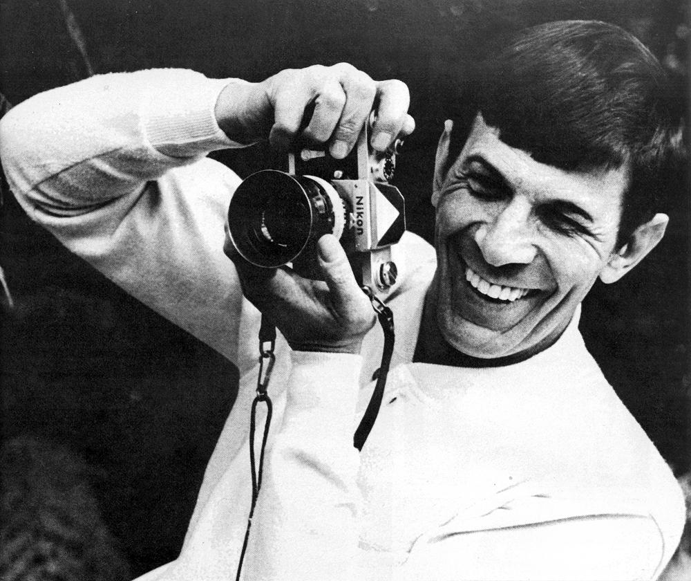 By the way, Leonard Nimoy will also be remembered as a great photographer http://t.co/3lhsfYT30n