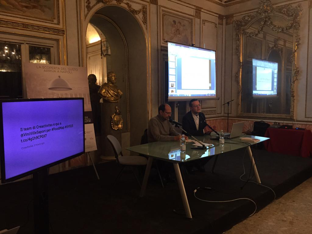 Prossimo intervento é quello di Antonio Puzzi, Project Manager di Slow Food Italia #FoodMap #VVS15 http://t.co/dNiG3FNO29